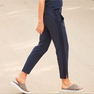 Athleta Navy Brooklyn Ankle Pants